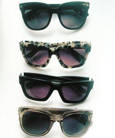 Sunny days ahead! Pick your pair! #c4eyewear #c4eyewearXsusiewall #shadow #sunnies #springsunshine  claudiaalan.com Sunnies, Sunglasses, Sunny Days, My Eyes, Eyewear, Pairs, Stylish, Women, Fashion