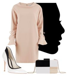 """""""Profile..."""" by paola-lelli ❤ liked on Polyvore featuring Gianvito Rossi, Gina Bacconi and MANGO"""