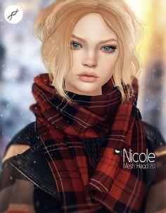 Nicole mesh head @Collabor88 | by nuraivanovna