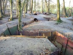 Discover Sanctuary Wood Museum in Ypres, Belgium: A rare example of World War I trenches from the British front. World War One, First World, Ypres Belgium, Ww1 History, Flanders Field, History Magazine, Remembrance Day, Places To Visit, Villa