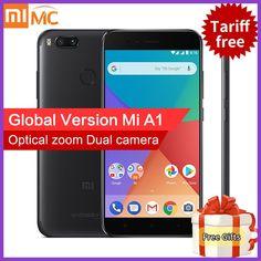 "Global Version Xiaomi Mi A1 4GB 32GB MiA1 Mobile Phone Snapdragon 625 Octa Core 5.5"" 1080P Dual Camera 12.0MP Android One CE FCC"