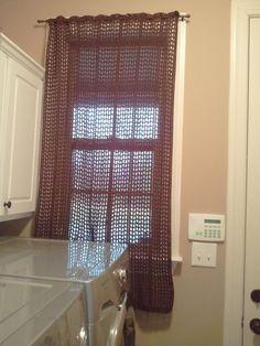 loom knit curtains - Recherche Google