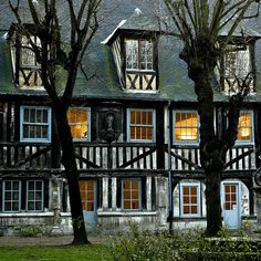Century House, Rouen, France photo by pascal Monuments, Belle France, Living In Europe, Rouen, France Photos, Le Havre, Exotic Places, Historical Architecture, Architectural Elements