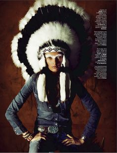 visual optimism; fashion editorials, shows, campaigns & more!: sioux: alina baikova by sergi pons for marie claire spain august 2013