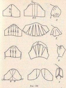 Моделирование различных фасонов рукавов | Шитье одежды