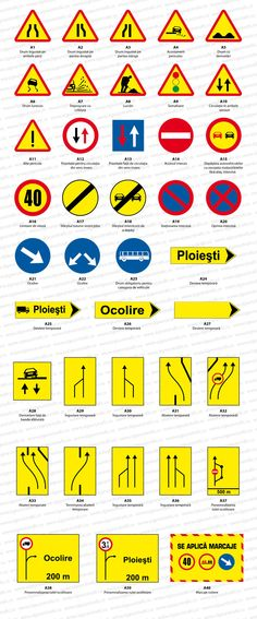 sigeurotrafic-indicatoare-rutiere-temporare Christmas Art, Map, Pets, Location Map, Maps, Animals And Pets