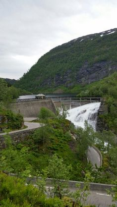 Bergsdalen Waterfall, Outdoor, Outdoors, Waterfalls, Outdoor Games, The Great Outdoors