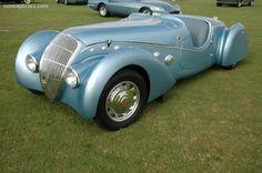 1938 Peugeot 402 Darlmat Pourtout at the Palm Beach International Concours d'Elegance