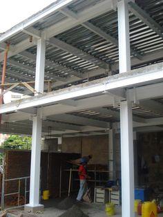 Suministro, Fabricación y Montaje de Estructuras Metálicas para Construcciones y Edificaciones Residenciales, Comerciales, Institucionales en México y Colombia.
