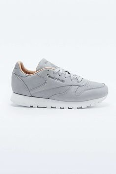 Reebok Classic Premium Grey Trainers in Gray (GREY) | Lyst