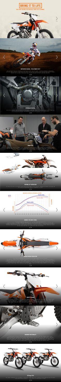 THE STORY BEHIND THE RADICALLY NEW 2016 KTM SX RANGE  #ktm #2016 #125sx #250sx #250sxf #350sxf #450sxf