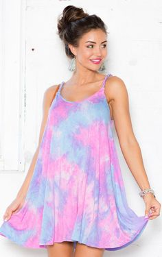 Showpo Rope Me In Dress in Pink Tie Dye-6(XS) Casual Dresses Casual Dresses, Women fashion, dress, clothe, women's fashion, outfit inspiration, pretty clothes, shoes, bags and accessories