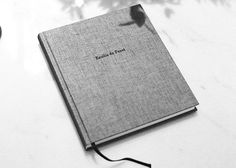 Personal Book from Bookbinders Design