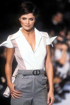 Helena Christensen for Christian Dior Spring/Summer 1997