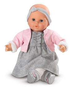 Take a look at this Mon Bebe Classique Valentine 14'' Baby Doll on zulily today!