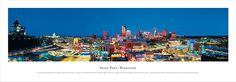 Saint Paul, Minnesota Skyline Picture - Panoramic Picture $29.95