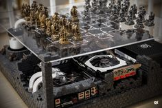Modding Hour #8 : Medieval chess scene