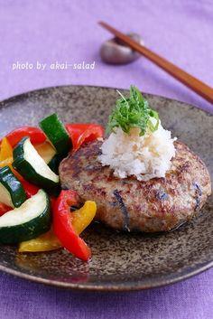 茄子ハンバーグ by 長岡美津恵akai-salad | レシピサイト「Nadia | ナディア」プロの料理を無料で検索