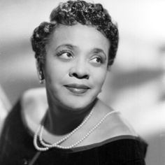 """Jackie """"Moms"""" Mabley born in Brevard, North Carolina on March 19, 1894.  """"Moms"""" was a stand-up comedienne.  At the age of 15, Mabley ran away to Cleveland, Ohio with a travelling minstrel show where she began singing and entertaining.  By the 1950s, she was one of the top women doing stand-up and earning $10,000 per week at the Apollo Theater."""