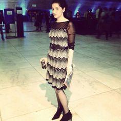 Vestido Anne Fontaine para C&A - Casa de Criadores