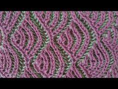 Cómo Tejer PUNTO GARBANZO en COLORES - Trinity Stitch 2 agujas (395) - YouTube