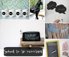 chalkboard diy inspiration