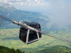 Stanserhorn Cabrio cable car, Switzerland