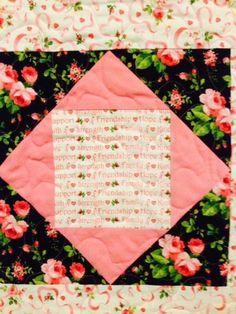 Pretty quilt pattern