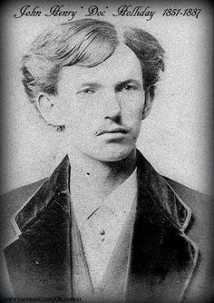 John Henry Holliday's Philadelphia School of Dental Surgery 1872 graduation photo, so it is certainly the man. He is here aged 20 years, 5 months. Wild West Outlaws, Old West Photos, Tombstone Arizona, Western Photo, Military Drawings, Doc Holliday, Into The West, Vintage Photographs, Vintage Photos