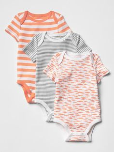 Printed bodysuit (3-pack) Product Image