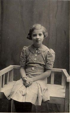 Riga, Latvia, 1941, Ester Gordon who perished in the Holocaust.