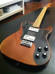 My favorite brand of guitars is Fender.  I have a Mexican made Fender blacktop with two dual hum buckers and I love the tone.  However, this is the cheap way out, as American-made is best.  I love the tone of Fender telecaster deluxes, although the pickup switch is in an annoying position; right in the pathway of your strum if you are a high strummer. You will always have memories of your gear, no matter what it is.  Photo Credit: pixshark.com