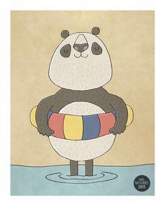 Paddling Panda