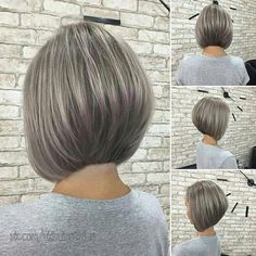 Pin on bob hairstyles for fine hair Pin on bob hairstyles for fine hair Stacked Bob Hairstyles, Bob Hairstyles For Fine Hair, Medium Bob Hairstyles, Hairstyles Haircuts, Trending Hairstyles, Short Hair Cuts, Short Hair Styles, Blonde Bob Haircut, Bobs For Thin Hair