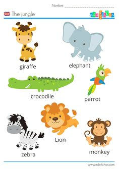 English Activities For Kids, Learning English For Kids, English Lessons For Kids, Toddler Learning Activities, Preschool Activities, Kids Learning, Preschool Charts, Farm Animals Preschool, Preschool Lessons