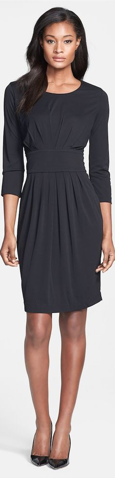 BOSS HUGO BOSS Inset Waist Dress LOOKandLOVEwithLOLO: Working 9 to 5