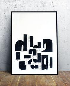 Dada poster #4 by Cabaret Typographie