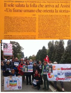9 OTTOBRE 2016 http://www.fabriziocatalano.it/9-ottobre-2016-marcia-perugia-assisi-della-pace/