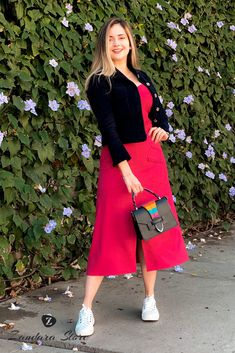 Skirt And Top Dress, Ideias Fashion, Girl Outfits, Hair Color, Stylish, Casual, Skirts, Clothes, Beauty