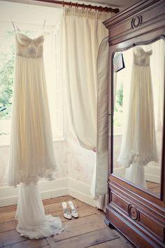 dress MLH + Dior shoes (Alix wed)