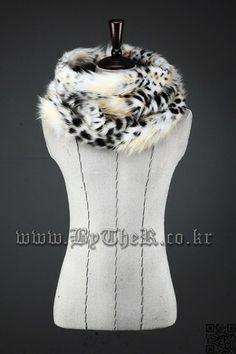 ByTheR Leopard Neck Warmer