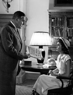 Angels In The Outfield (1951) - Paul Douglas and Janet Leigh