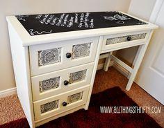 The Thrifty Rebel: Desk Makeover Inspiration