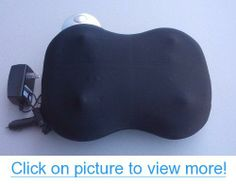 iNeed Lumbar Massage Cushion - Electric Back Massager