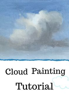 How to paint clouds! Step by step cloud painting tutorial. Cloud painting tutorial for beginners and. - How to paint clouds! Step by step cloud painting tutorial. Cloud painting tutorial for beginners and. Oil Painting For Beginners, Painting Videos, Painting Lessons, Beginner Painting, Cloud Drawing, Cloud Art, Drawing Art, Drawing Tips, Pastel Clouds