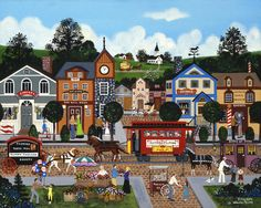 Jane Wooster Scott —   City Life  (900x718)