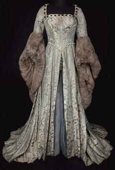 """Renaissance """"winter"""" dress."""