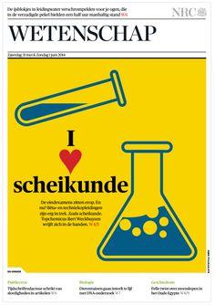 I <3 SCHEIKUNDE (31 mei 2014) De eindexamens zitten erop. En nu? Bèta- en techniekopleidingen zijn erg in trek. Zoals scheikunde. Topchemicus Bert Weckhuysen wrijft zich in de handen. http://www.nrc.nl/handelsblad/van/2014/mei/31/ik-ben-een-soort-tomahawk-raket-1382997