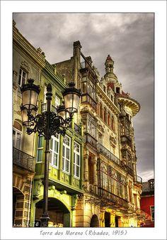 La elegancia de casi 100 años..Rivadeo  Galicia  Spain