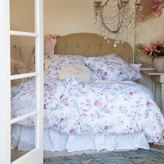 Spring Floral Collection -Love that rachel ashwell shabby chic couture is bringing back their floral bedding